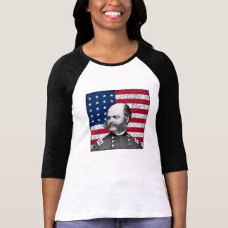 General Burnside y la bandera de los E.E.U.U. Camisetas