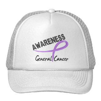 General Cancer Awareness 3 Gorro De Camionero