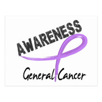 General Cancer Awareness 3 Postcard