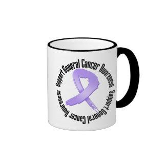 General Cancer Awareness de la ayuda Tazas De Café