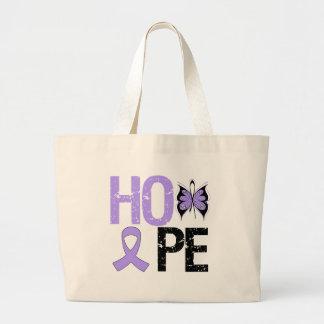 General Cancer Awareness de la esperanza Bolsa Tela Grande