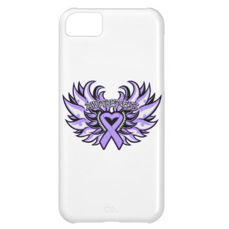 General Cancer Awareness Heart Wings Case For iPhone 5C