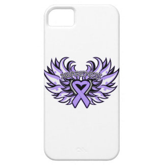 General Cancer Awareness Heart Wings iPhone 5 Covers