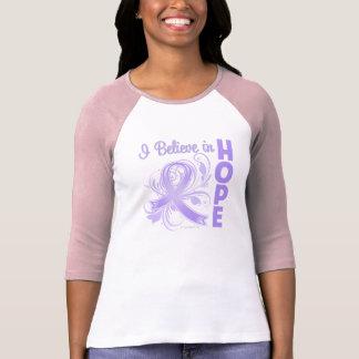 General Cancer Awareness I Believe en esperanza Camiseta