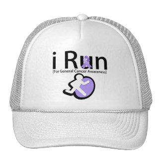 General Cancer Awareness I Run Trucker Hat