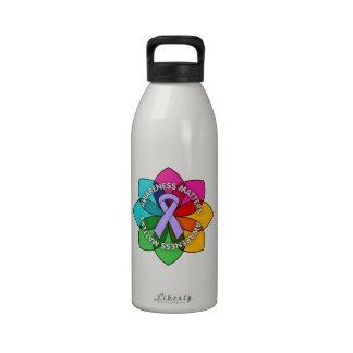 General Cancer Awareness Matters Petals Botella De Agua