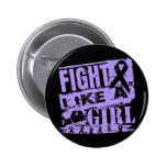 General Cancer BurnOut Fight Like un chica Pins
