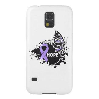 General Cancer Butterfly de la esperanza Funda De Galaxy S5
