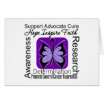 General Cancer Butterfly Inspirations Cards