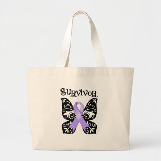 General Cancer Butterfly Survivor Bags