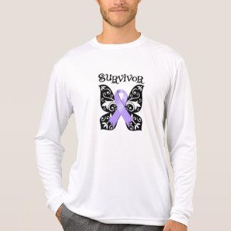 General Cancer Butterfly Survivor Tshirt