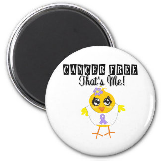 General Cancer - Cancer Free That's Me 2 Inch Round Magnet