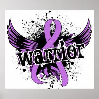 General Cancer del guerrero 16 Poster