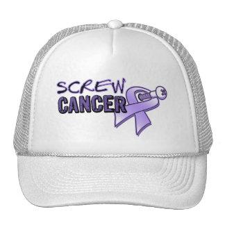 General Cancer del tornillo Gorros