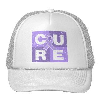 General Cancer Distressed Cube de la CURACIÓN Gorros