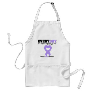General Cancer Every Day I Miss My Boyfriend Aprons