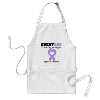 General Cancer Every Day I Miss My Granddaughter Apron