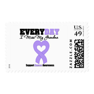 General Cancer Every Day I Miss My Grandma Postage