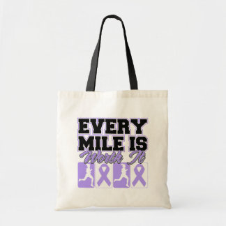 General Cancer Every Mile is Worth It Bags