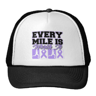 General Cancer Every Mile is Worth It Trucker Hat