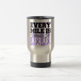 General Cancer Every Mile is Worth It Mug