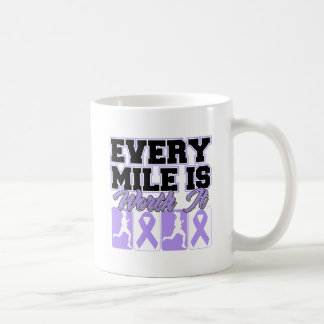 General Cancer Every Mile is Worth It Classic White Coffee Mug