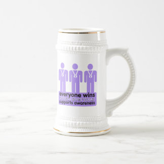 General Cancer Everyone Wins With Awareness Mugs