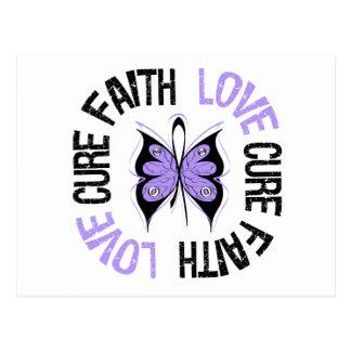 General Cancer Faith Love Cure Tarjetas Postales
