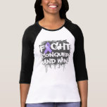 General Cancer Fight Conquer and Win T Shirts
