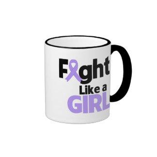 General Cancer Fight Like a Girl Mug