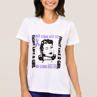 General Cancer - Fight Like A Girl - We Can Do It Tees