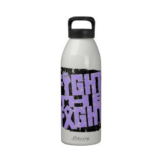 General Cancer Fight The Fight Botella De Agua Reutilizable