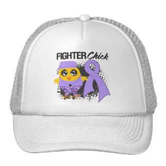 General Cancer Fighter Chick Grunge Trucker Hat