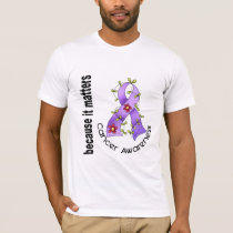 General Cancer Flower Ribbon 3 T-Shirt