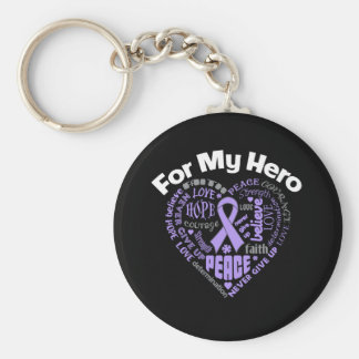 General Cancer For My Hero Key Chains