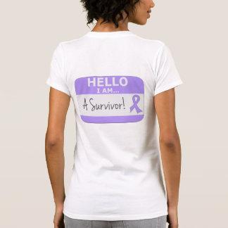 General Cancer Hello I Am un superviviente Tshirts