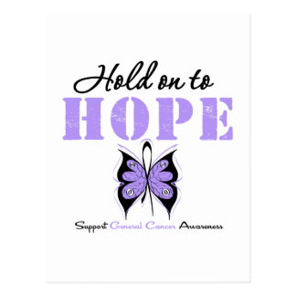 General Cancer Hold On To Hope Post Cards