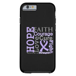 General Cancer Hope Faith Motto Tough iPhone 6 Case