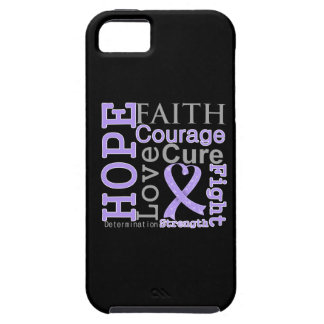 General Cancer Hope Faith Motto iPhone 5 Protectores
