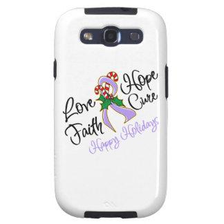 General Cancer Hope Love Cure buenas fiestas Samsung Galaxy S3 Carcasa