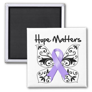 General Cancer Hope Matters 2 Inch Square Magnet