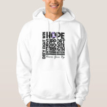 General Cancer Hope Support Advocate Hoodie