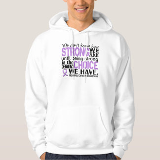General Cancer How Strong We Are Hoodie