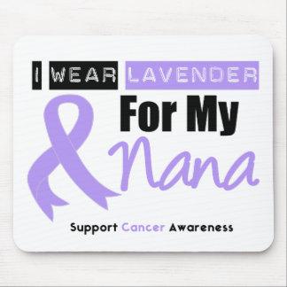 General Cancer I Wear Lavender For My Nana Mouse Mat