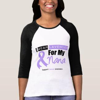 General Cancer I Wear Lavender For My Nana Shirt