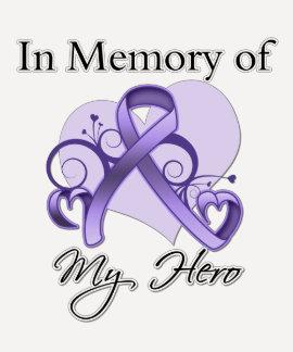General Cancer In Memory of My Hero Tee Shirt