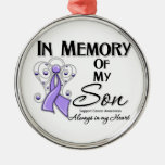 General Cancer In Memory of My Son.png Ornament