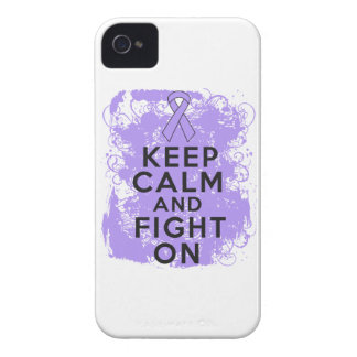 General Cancer Keep Calm and Fight On Case-Mate Blackberry Case