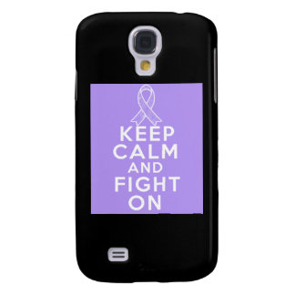 General Cancer Keep Calm and Fight On Samsung Galaxy S4 Case