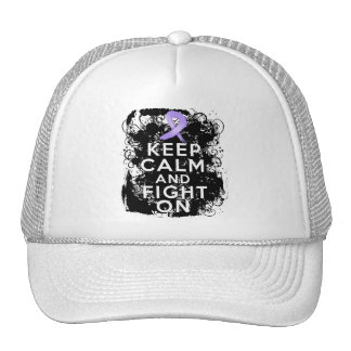 General Cancer Keep Calm and Fight On Trucker Hat